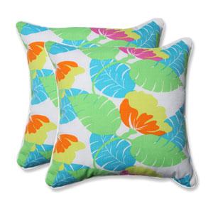 Outdoor Avia Fiesta 18.5-Inch Throw Pillow, Set of 2