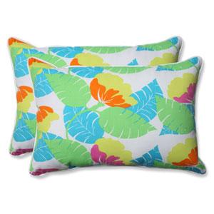 Outdoor Avia Fiesta Over-sized Rectangular Throw Pillow, Set of 2