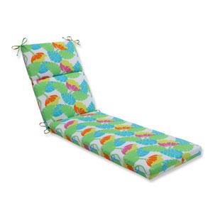 Outdoor Avia Fiesta Chaise Lounge Cushion