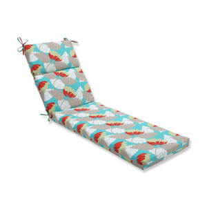 Outdoor Avia Surf Chaise Lounge Cushion
