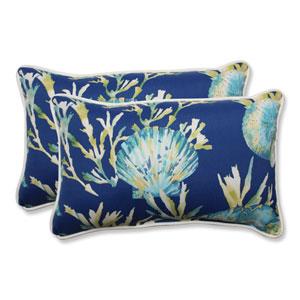 Outdoor Daytrip Pacific Rectangular Throw Pillow, Set of 2