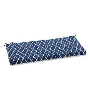 Outdoor Garden Gate Navy Bench Cushion
