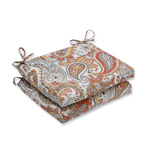 Outdoor Hadia Sunset Squared Corners Seat Cushion, Set of 2