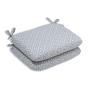 Outdoor In The Frame Pebble Rounded Corners Seat Cushion, Set of 2