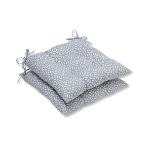Outdoor In The Frame Pebble Wrought Iron Seat Cushion, Set of 2