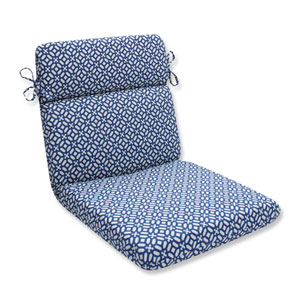 Outdoor In The Frame Sapphire Rounded Corners Chair Cushion