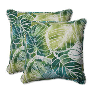 Outdoor Key Cove Lagoon 18.5-Inch Throw Pillow, Set of 2