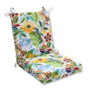 Outdoor Lensing Garden Squared Corners Chair Cushion