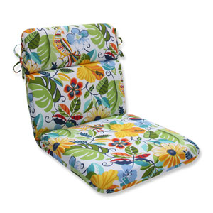 Outdoor Lensing Garden Rounded Corners Chair Cushion