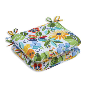 Outdoor Lensing Garden Rounded Corners Seat Cushion, Set of 2