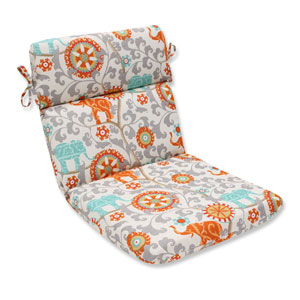 Outdoor Menagerie Cayenne Rounded Corners Chair Cushion