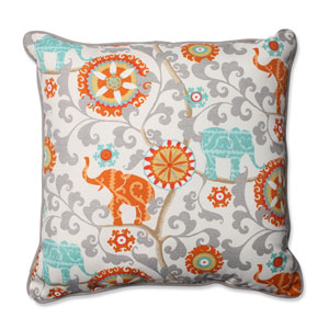 Outdoor Menagerie Cayenne 25-Inch Floor Pillow