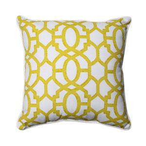 Outdoor Nunu Geo Wasabi 25-Inch Floor Pillow
