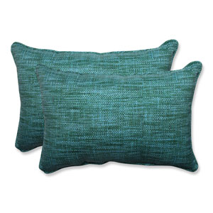 Outdoor Remi Lagoon Over-sized Rectangular Throw Pillow, Set of 2