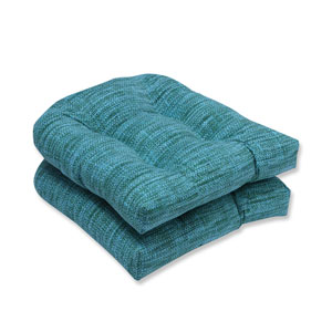Outdoor Remi Lagoon Wicker Seat Cushion, Set of 2
