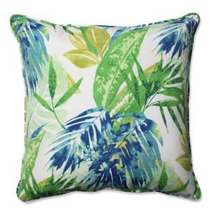 Outdoor Soleil Blue/Green 25-Inch Floor Pillow
