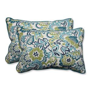 Outdoor Zoe Mallard Over-sized Rectangular Throw Pillow, Set of 2