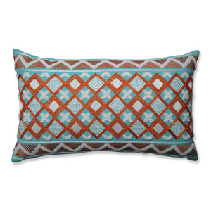 Amber Citrus-Belize Rectangular Throw Pillow