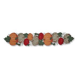 Pumpkin Stack Harvest 68-Inch Table Runner