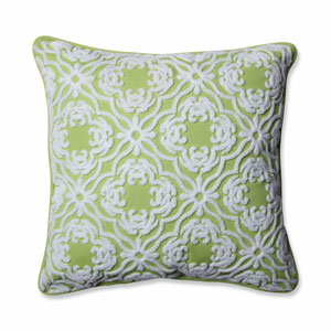 Outdoor/ Indoor Allee Lime 18-inch Throw Pillow