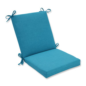 Outdoor / Indoor Rave Peacock Squared Corners Chair Cushion