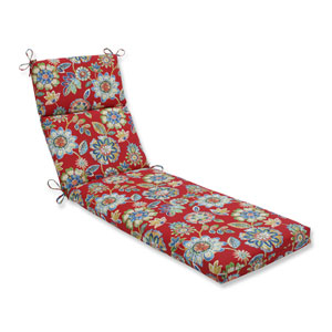Outdoor / Indoor Daelyn Cherry Chaise Lounge Cushion