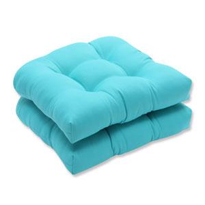 Outdoor / Indoor Splash Maui Wicker Seat Cushion (Set of 2)