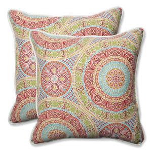 Outdoor / Indoor Delancey Jubilee 18.5-inch Throw Pillow (Set of 2)
