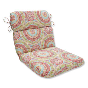 Outdoor / Indoor Delancey Jubilee Rounded Corners Chair Cushion