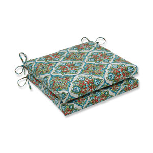 Outdoor / Indoor Splendor Opal Squared Corners Seat Cushion 20x20x3 (Set of 2)