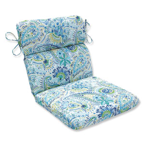 Outdoor / Indoor Gilford Baltic Rounded Corners Chair Cushion
