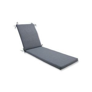 Rave Graphite Chaise Lounge Cushion