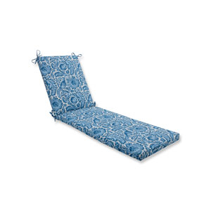 Tucker Resist Azure Blue Chaise Lounge Cushion 80x23x3