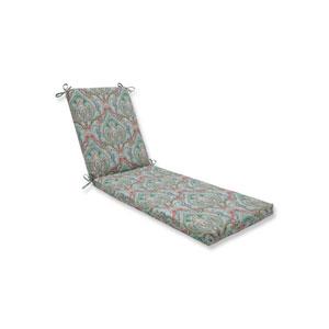 Pretty Witty Reef Blue Chaise Lounge Cushion 80x23x3