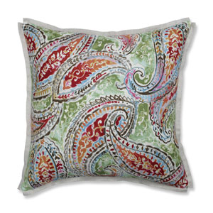 Indoor Bright and Lively Fiesta 18-Inch Throw Pillow