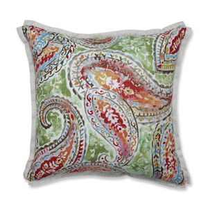 Indoor Bright and Lively Fiesta 16.5-Inch Throw Pillow
