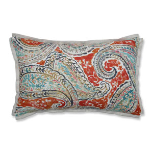 Indoor Bright and Lively Nectar Rectangular Throw Pillow