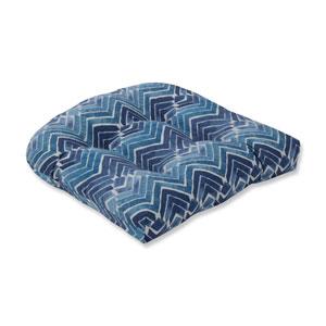 Indoor Zen Blend Indigo Wicker Seat Cushion