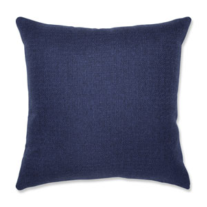 Indoor Sonoma Navy 18-Inch Throw Pillow
