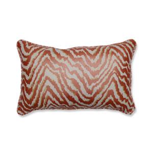 Indoor Sleek Spice Rectangular Throw Pillow