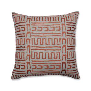 Indoor Primitive Sunset 18-Inch Throw Pillow