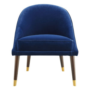 Avalon Navy Accent Chair