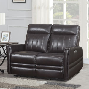 Coachella Brown 39-Inch Recliner Loveseat