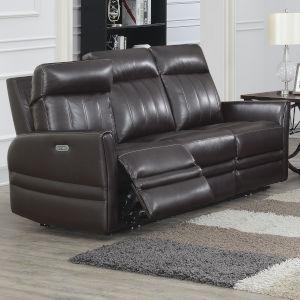 Coachella Brown 39-Inch Recliner Sofa