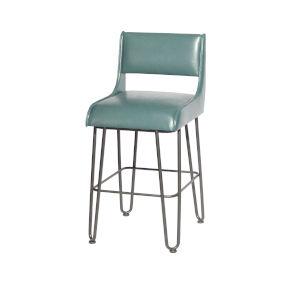 Dillon Blue 18-Inch Counter Chair