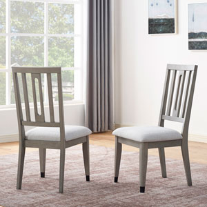Fordham Gray Side Chair, Set of 2
