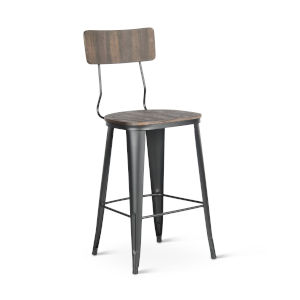 Lincoln Brown 19-Inch Bar Stool