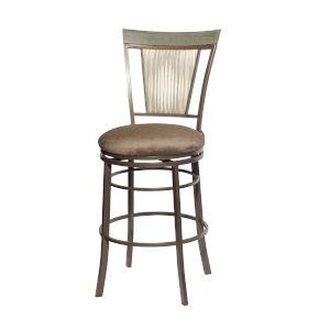 Malorie Brown 20-Inch Bar Chair