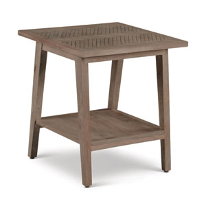 Milani Natural Square End Table