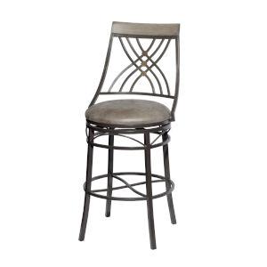 Melva Gray 21-Inch Bar Chair